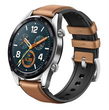 ساعت هوشمند هوآوی Watch GT FTN-B19 Brown Leather Strap SmartWatch